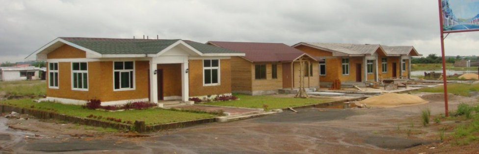World Travel Photos :: Liberia - Monrovia ::  50.000 Low Income Houses being built @ Monrovia,Liberia