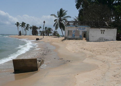 World Travel Photos :: Liberia - Misc :: Beach @ Robertsport Liberia,West Africa