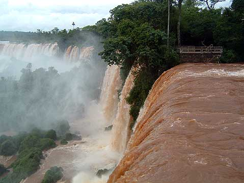 World Travel Photos :: Waterfalls :: Argentina. Iguasu Waterfalls (Foz do Iguacu)