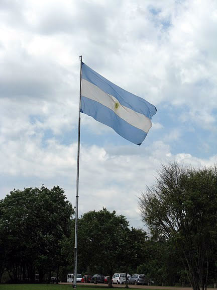 World Travel Photos :: Vadim :: Argentina - a national flag