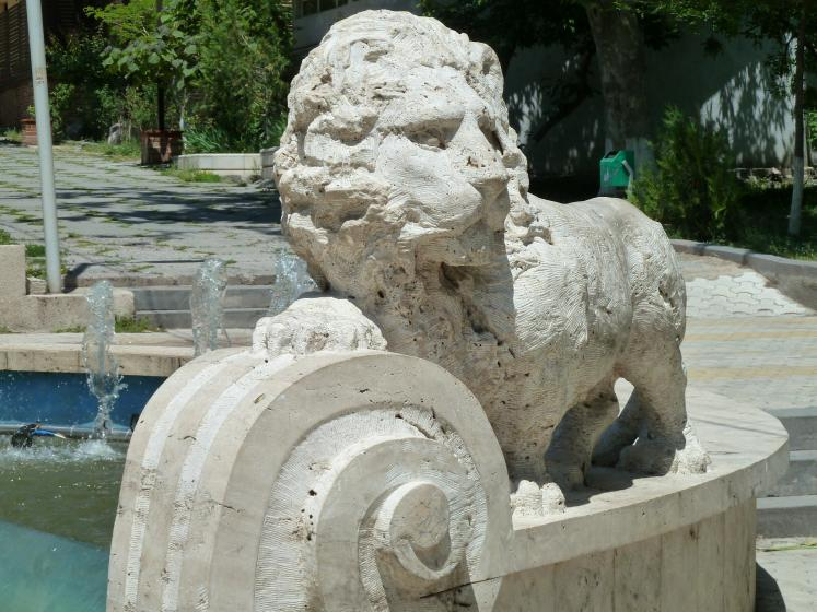 World Travel Photos :: Armine-Karakhanyan :: Fragment of a fountain in Yerevan, Armenia