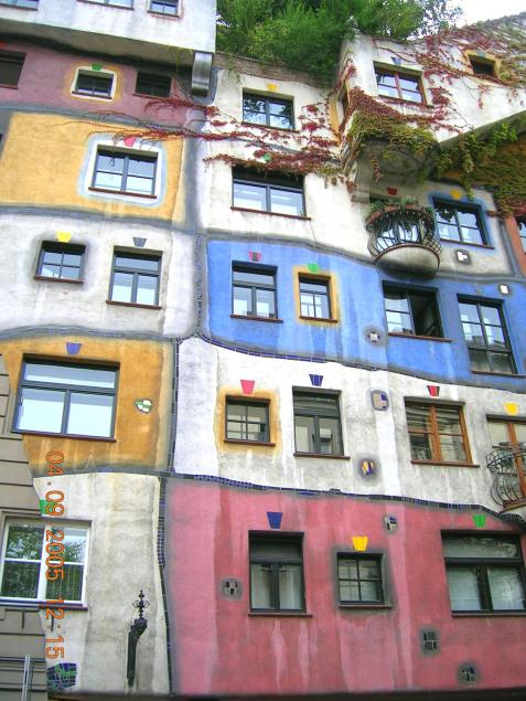 World Travel Photos :: Austria - Vienna :: Vienna. Hundertwasserhaus