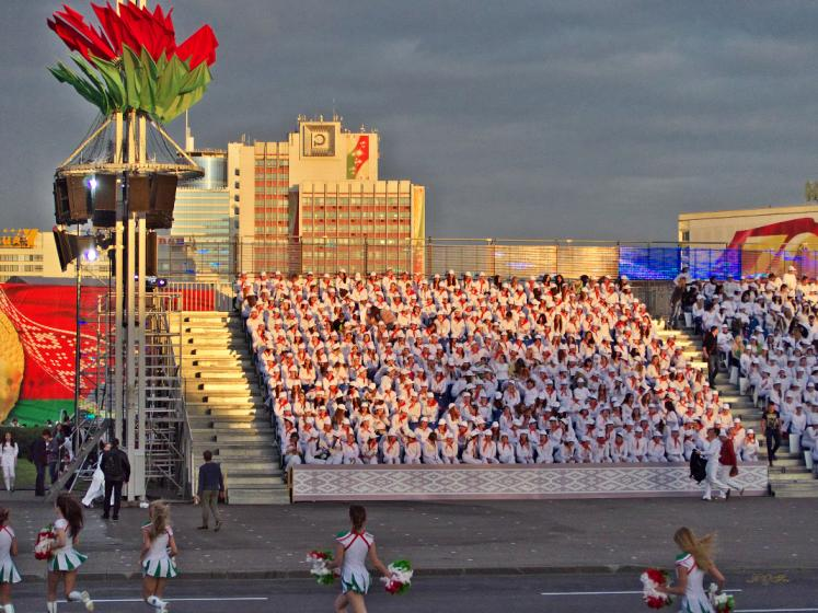 World Travel Photos :: Belarus - Minsk :: Minsk, Belarus - rehearsal for the Independence Day parade