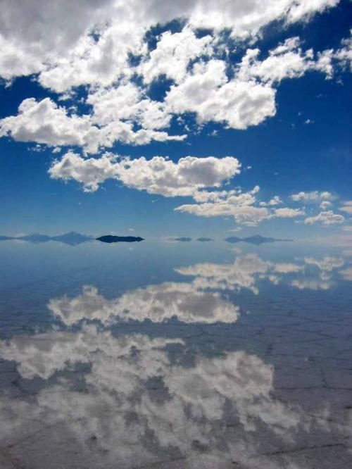 World Travel Photos :: Sky :: Bolivia. Salar de Uyuni - clouds