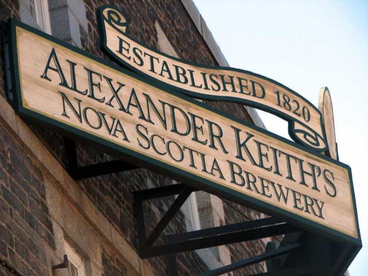 World Travel Photos :: Canada - Nova Scotia - Halifax :: Halifax. Alexander Keith´s Nova Scotia brewery