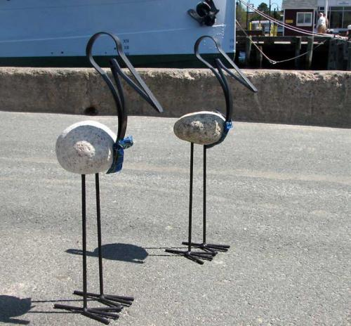 World Travel Photos :: Canada - Nova Scotia - Halifax :: Halifax. Herons of waterfront