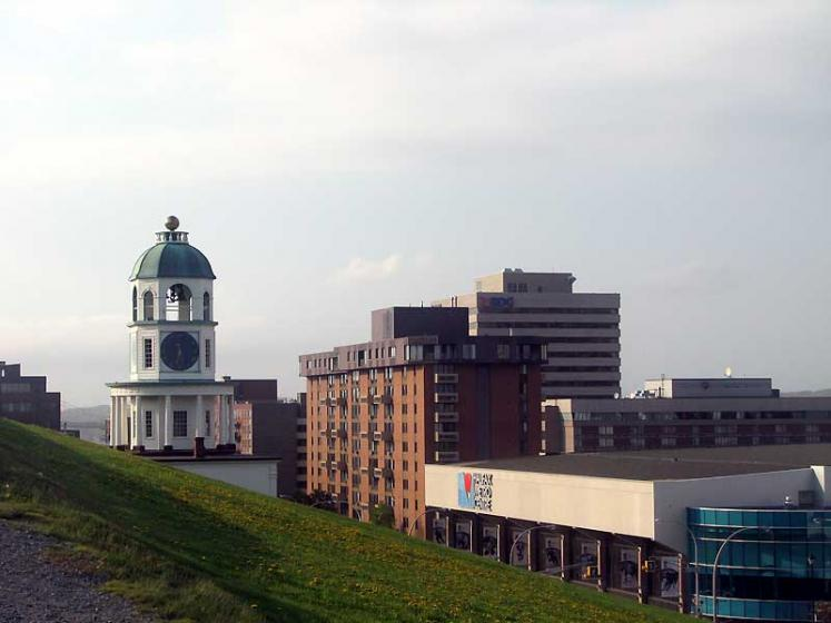 World Travel Photos :: Canada - Nova Scotia - Halifax :: Halifax - a view from Citadel on Halifax Metro Centre