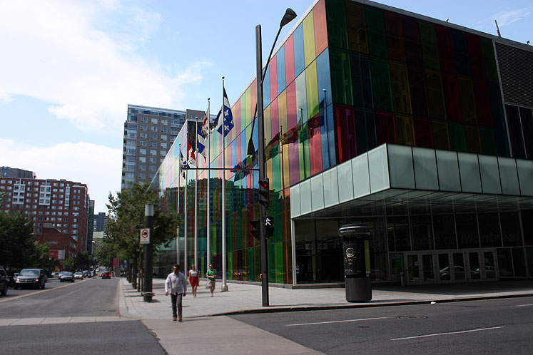 World Travel Photos :: Canada - Quebec - Montreal :: Montreal. A view on Palais des Congres