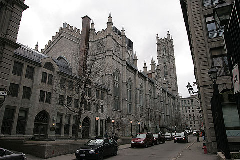 World Travel Photos :: Canada - Quebec - Montreal :: Montreal. Notre-Dame Basilica