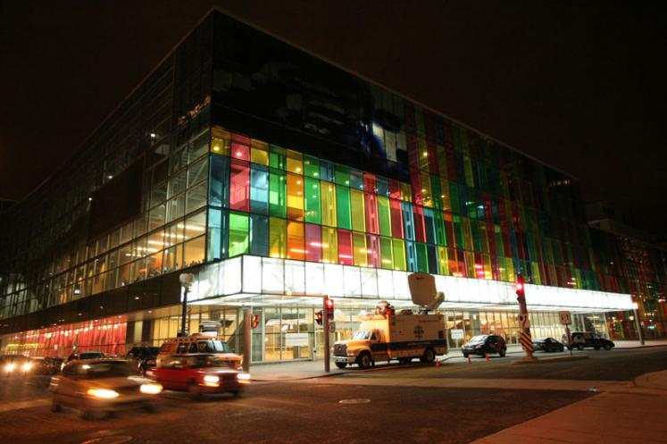 World Travel Photos :: Canada - Quebec - Montreal :: Montreal. Palais des Congres