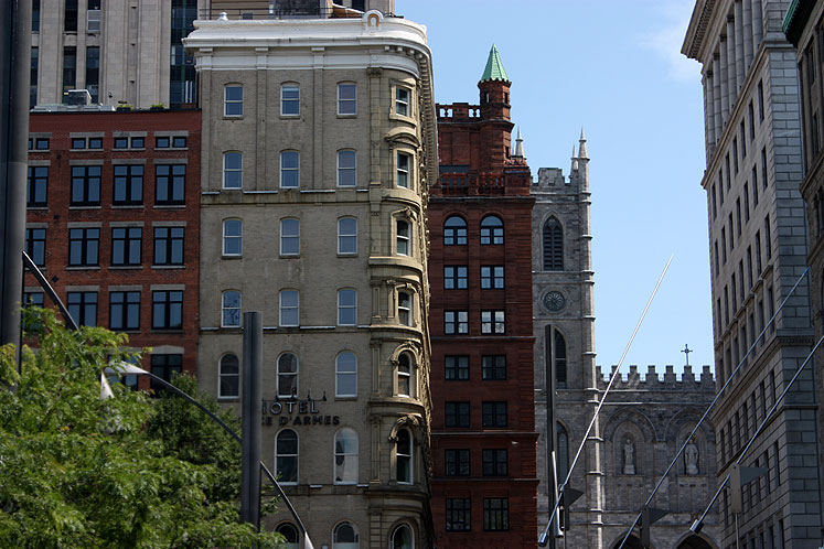 World Travel Photos :: Canada - Quebec - Montreal :: Montreal - buildings in downtown