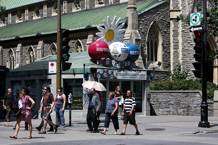 World Travel Photos :: Canada - Quebec - Montreal :: Summer time in Montreal