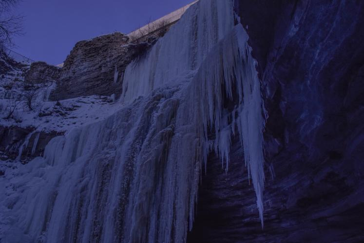 World Travel Photos :: Michael-Hunter :: Frozen Water Fall