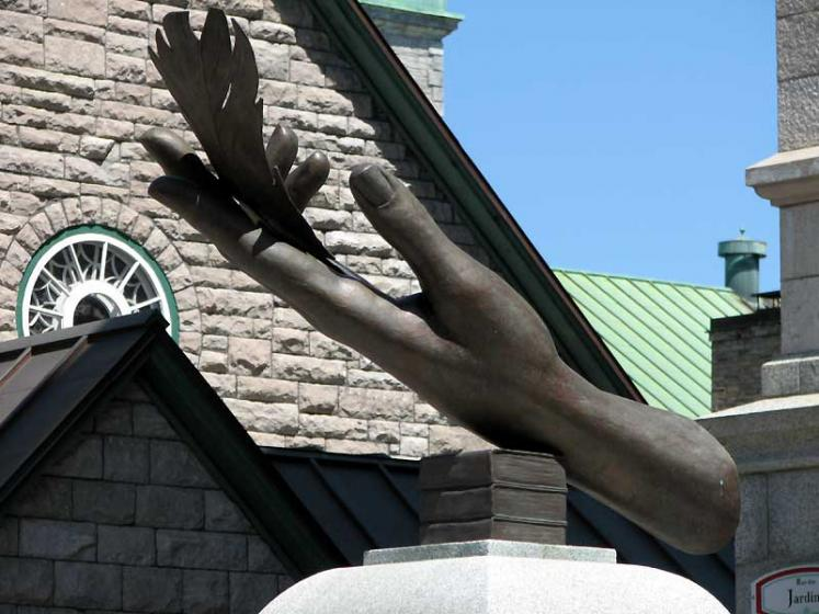 World Travel Photos :: Monuments & sculpture compositions :: Quebec City