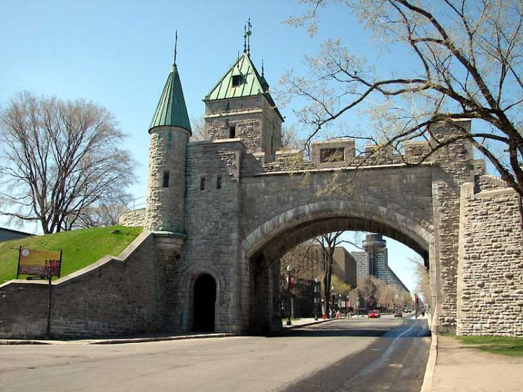 World Travel Photos :: Canada - Quebec - Quebec City :: Quebec City. Old City Gate