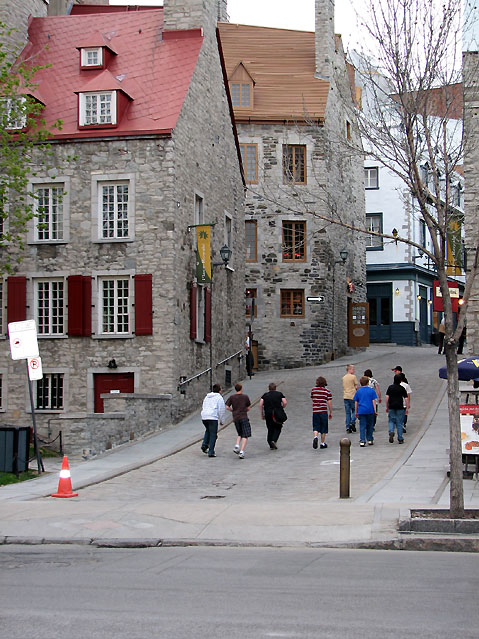 World Travel Photos :: Canada - Quebec - Quebec City :: Quebec City. Old Port Disctirct