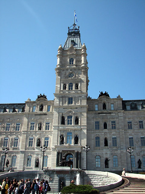 World Travel Photos :: Canada - Quebec - Quebec City :: Quebec City. Quebec Parliament Building