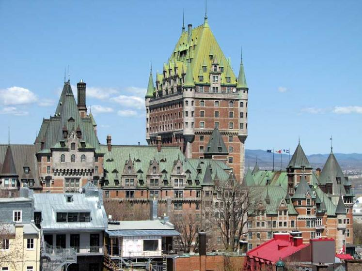 World Travel Photos :: Canada - Quebec - Quebec City :: Quebec City. The Château Frontenac