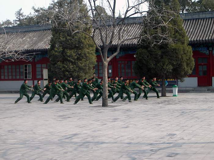 World Travel Photos :: China - Beijing :: Beijing.Soldiers in the forbidden city