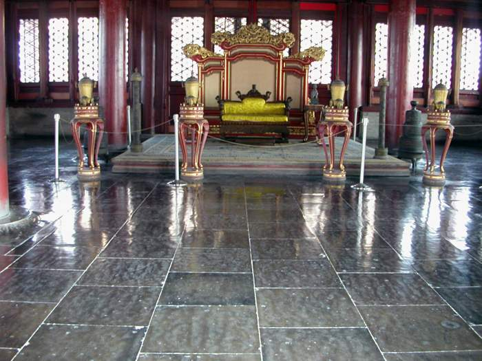 World Travel Photos :: China - Beijing :: Beijing. The throne