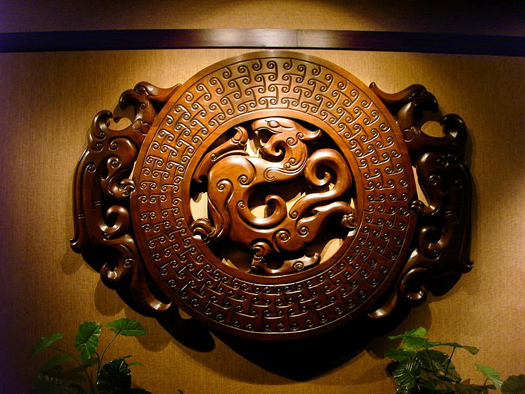World Travel Photos :: China - Guangzhou :: Guangzhou - a decoration at the hotel