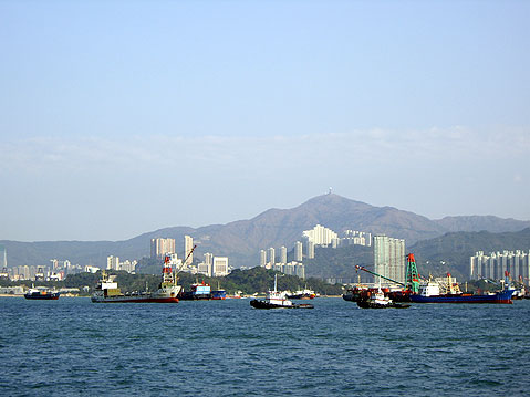 World Travel Photos :: China - Hong Kong :: Hong Kong Harbor