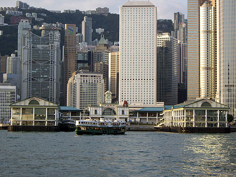 World Travel Photos :: China - Hong Kong :: Hong Kong Harbor.
