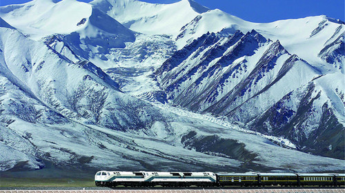 World Travel Photos :: China - Misc :: Tibet train tour