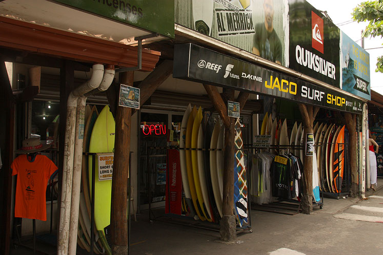 World Travel Photos :: Costa Rica :: Costa-Rica. A surf shop in Jaco