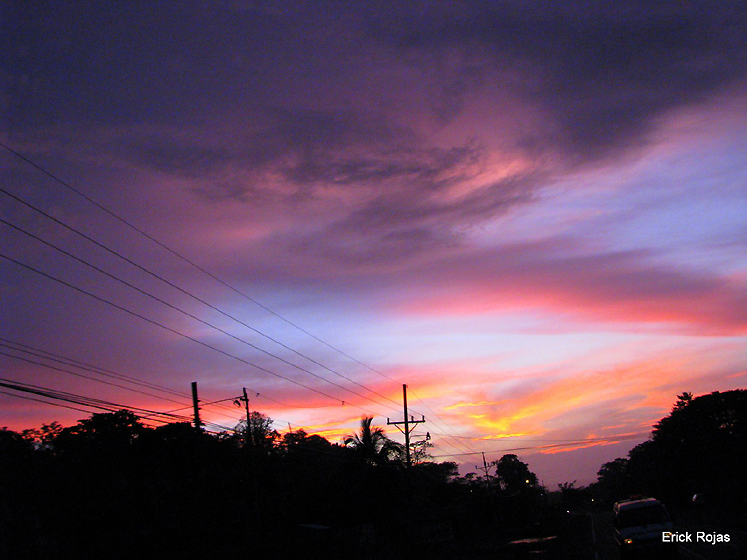 World Travel Photos :: Sunsets :: Costa-Rica. Sky, Puerto Viejo