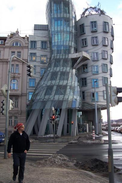 World Travel Photos :: Interesting unusual buildings :: A Building in Prague