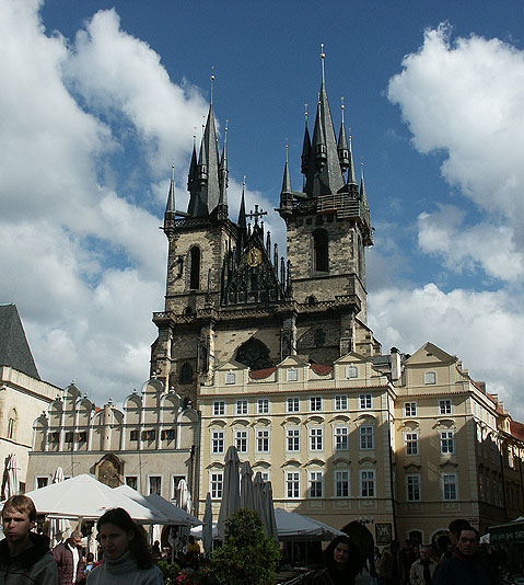 World Travel Photos :: Landmarks around the world :: Prague. The Church of Our Lady in front of Týn