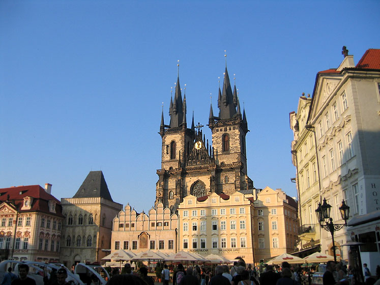 World Travel Photos :: Czech Republic - Prague :: Prague. The Church of Our Lady in front of Týn