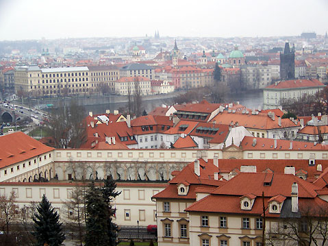 World Travel Photos :: Czech Republic - Prague :: Prague - panoramic view