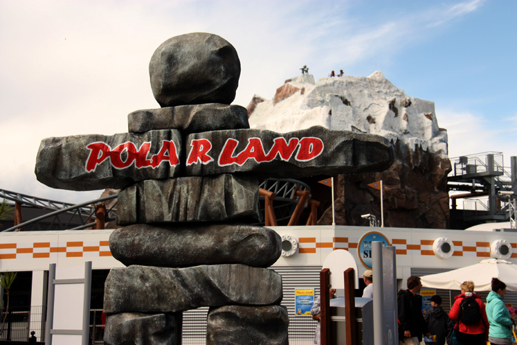 World Travel Photos :: Amusement & theme parks  :: Billund. Legoland- Polar Land ride