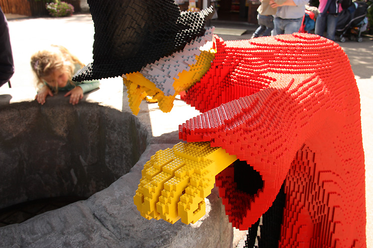 World Travel Photos :: Amusement & theme parks  :: Billund. Legoland - a wicked witch