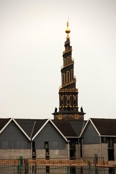 World Travel Photos :: Interesting unusual buildings :: Copenhagen - Church of Our Saviour
