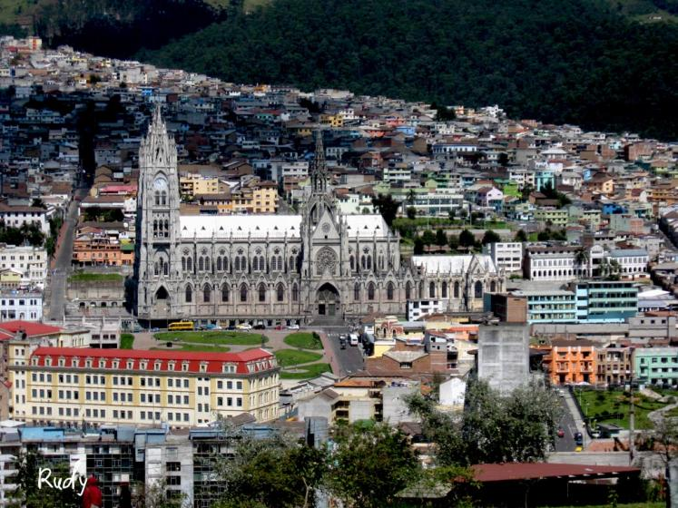 World Travel Photos :: Capitals of the world :: The old part of the city of Quito the capital of Ecuador