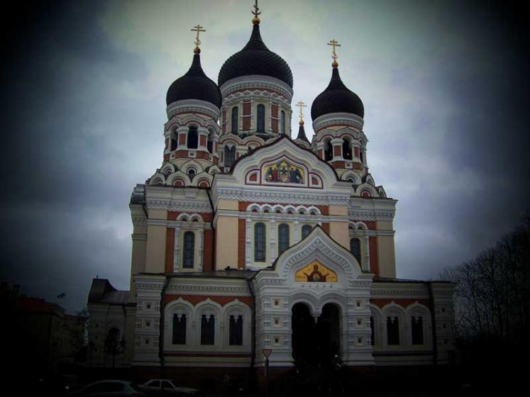 World Travel Photos :: Estonia - Tallinn :: Tallinn. Alexander Nevsky Cathedral
