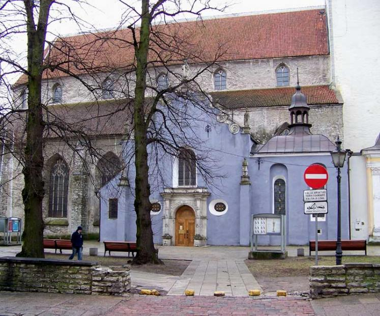 World Travel Photos :: Estonia - Tallinn :: Talliinn. Niguliste Church (St. Nicholas´ Church)
