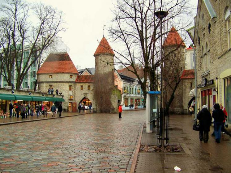 World Travel Photos :: Estonia - Tallinn :: Tallinn. Viru gate