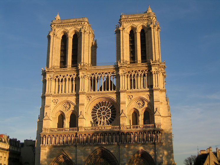 World Travel Photos :: UNESCO World Heritage Sites :: Notre Dame de Paris - UNESCO World Heritage Site