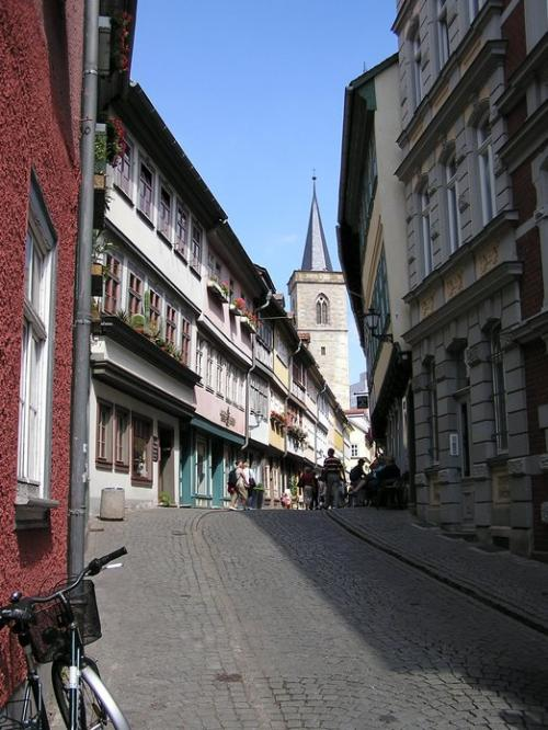 World Travel Photos :: Quiet small-town views :: Germany. Erfurt