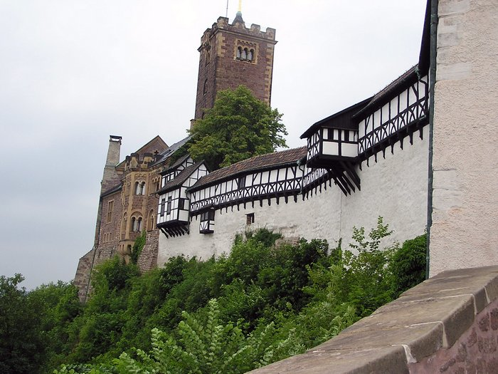 World Travel Photos :: Castles & palaces :: Germany. Castle Wartburg.
