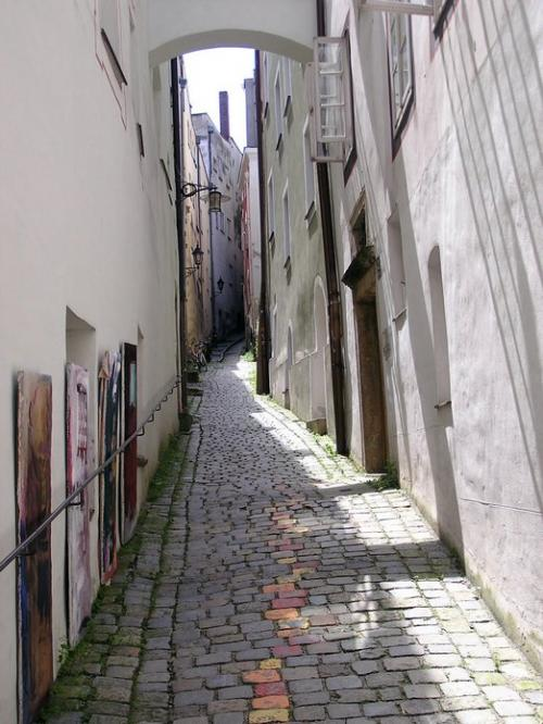 World Travel Photos :: Quiet small-town views :: Germany. Passau