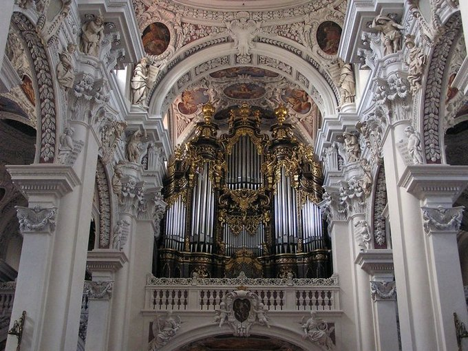 World Travel Photos :: Religious buildings :: Germany. Passau. St. Stephen´s Cathedral