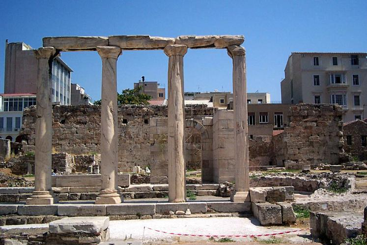 World Travel Photos :: Ancient world :: Athens. Ancient ruins