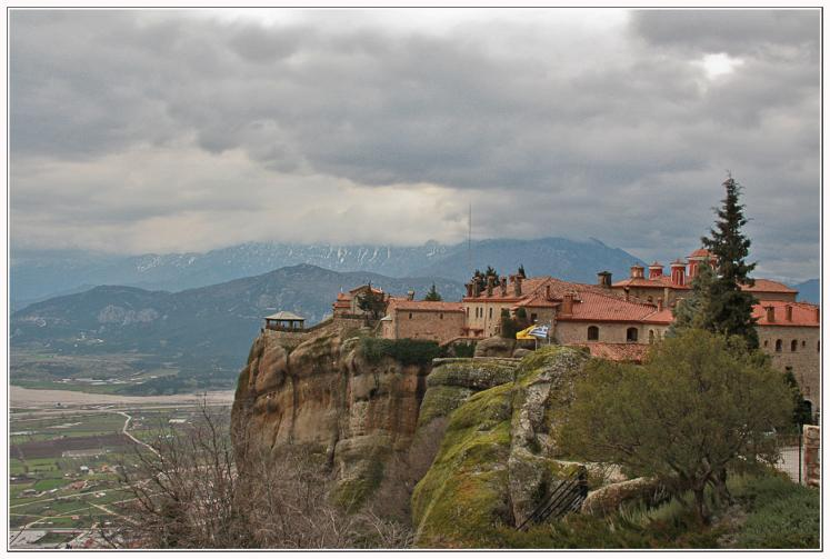 World Travel Photos :: UNESCO World Heritage Sites :: Meteora, Ayia Trias Monastery (Monastery of the Holy Trinity) - UNESCO World Heritage Site