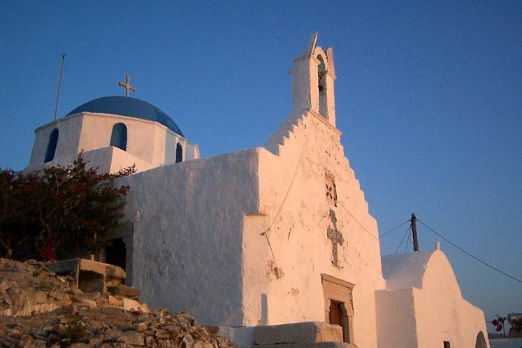 World Travel Photos :: Greece - Misc :: Church on Paros Island
