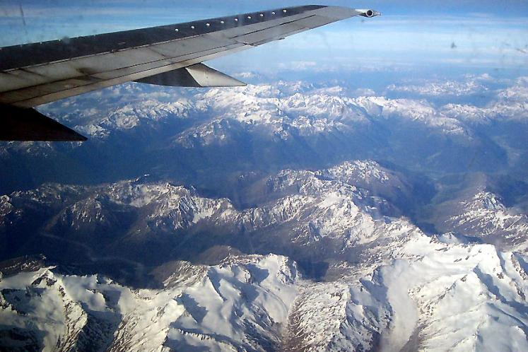 World Travel Photos :: Greece - Athens :: On the way to Athens - view from the airplane